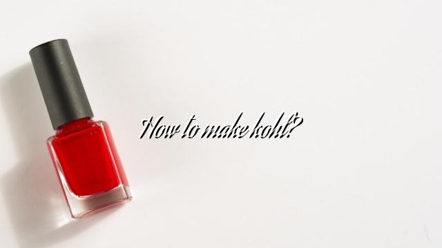 How to make kohl?