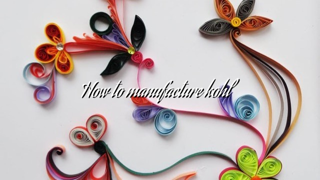 How to manufacture kohl
