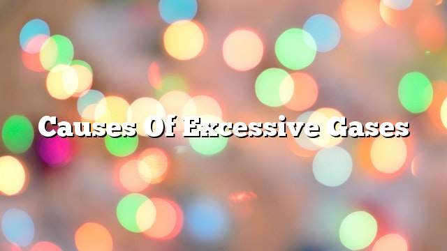 Causes of excessive gases