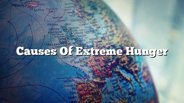 Causes of extreme hunger