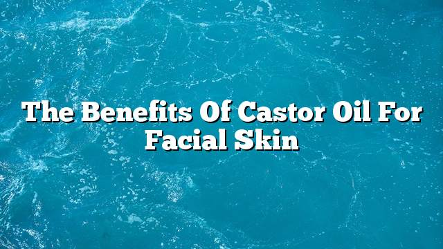 The benefits of castor oil for facial skin